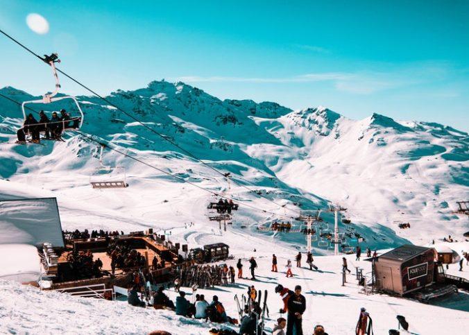Une station de ski