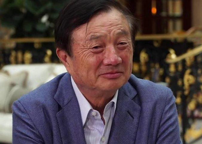 Ren Zhengfei, le PDG de Huawei