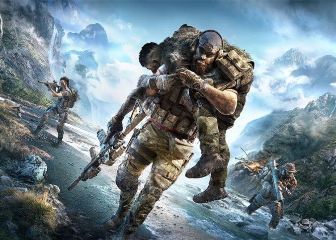 Une scène du jeu ghost recon, une série d'léditeur Ubisoft