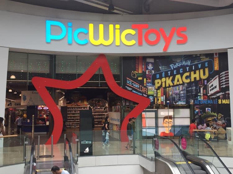La façade d'un magasin PicWicToys