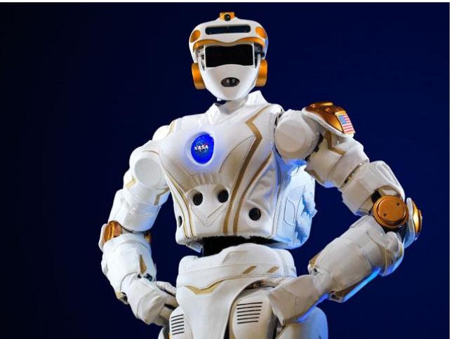 Le robot humanoïde R5, aussi connu sous le nom de Valkyrie