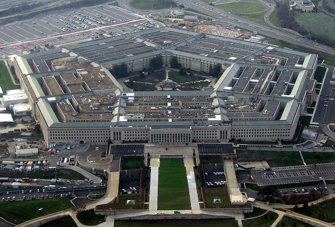 Le National Military Command Center (NMCC), le Centre national de Commandement Militaire des États-Unis, plus connu sous le nom de « Pentagone »