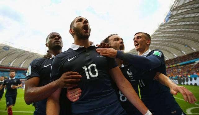 Karim Benzema en équipe de France en 2014
