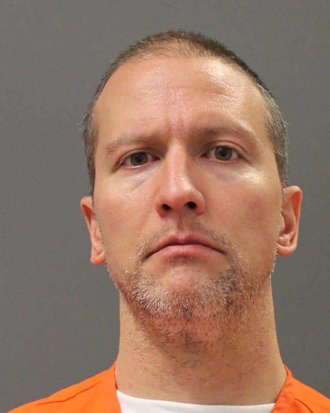 Derek Chauvin, ex policier accusé du décès de George Floyd.