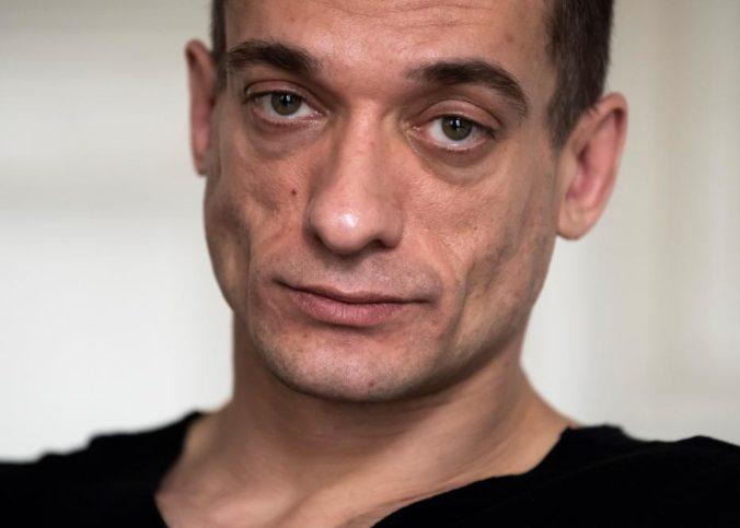 L'activiste russe Piotr Pavlenski.