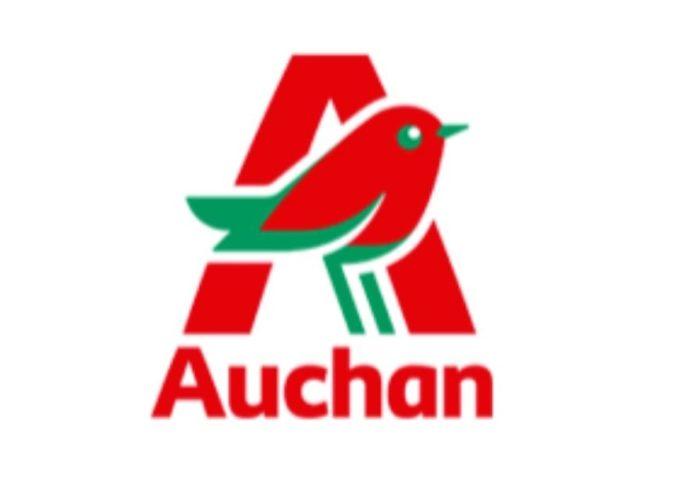 Logo du groupe Auchan.