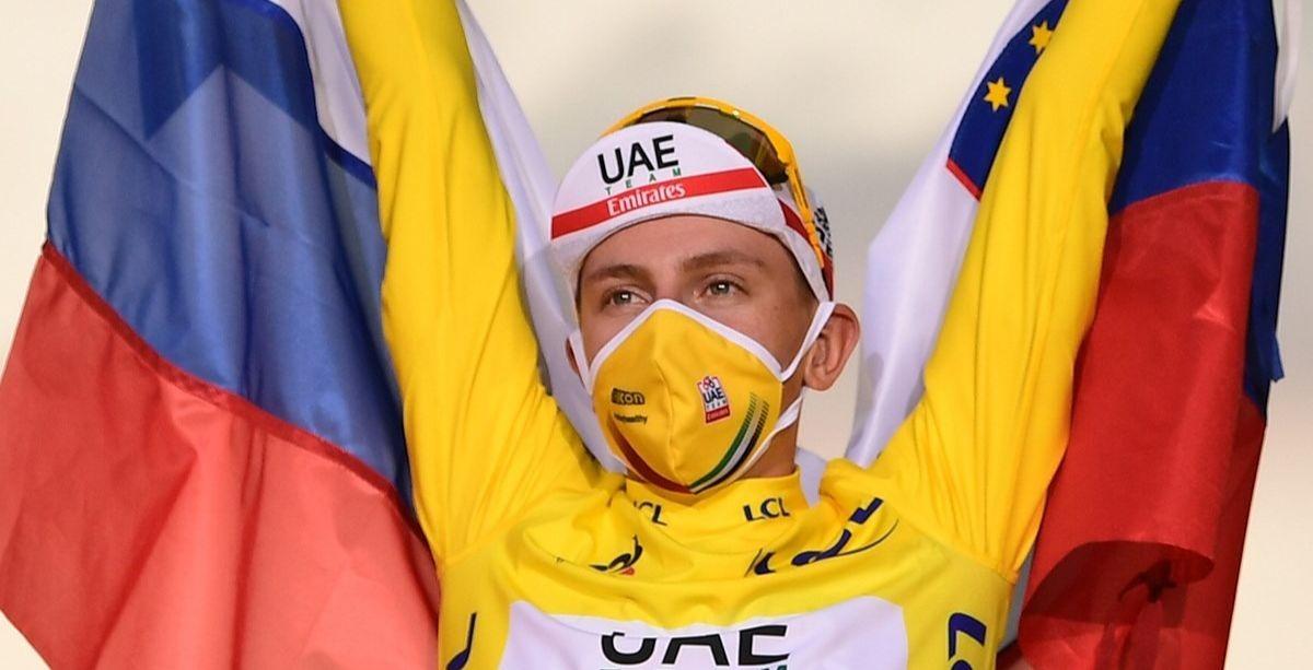 Tadej Pogacar, vainqueur du Tour de France 2020.