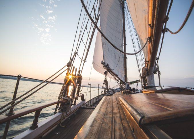 Des voiliers du Vendée du Globe.